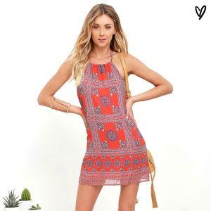 Lulu's Halter Dress